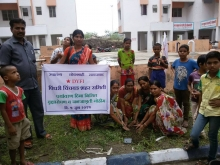 Around 500 trees were planted in Maharashtra by DYFI on 5th June on the occasion of World Environment day