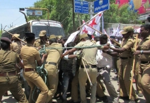 Police Brutality On Youth At Tuticorin.